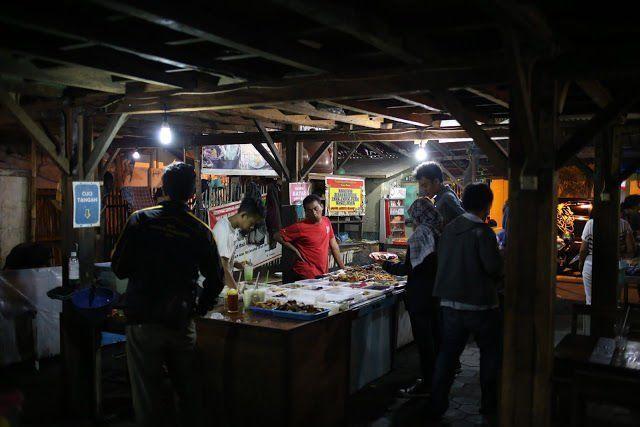 pilihan makanan nikmat dengan harga bersahabat di Angkringan Wijilan