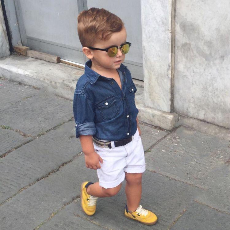 kemeja jeansnya leh uga~