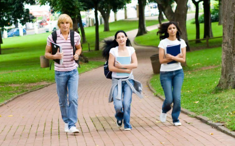Jalan aja ke kampusnya