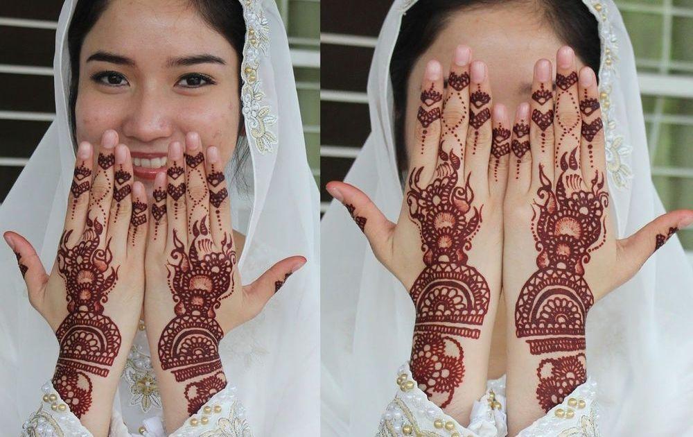 Tak Asal Cantik Di Balik Motif Henna Ternyata Menyimpan Doa Dan Harapan Bagi Calon Pengantin