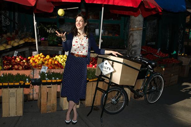 Atau bisa berjualan dengan food bike satu ini.