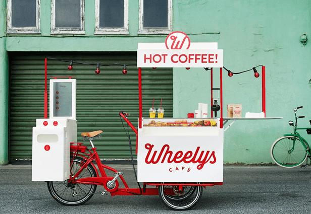 Jualan burger pakai food bike ini aja!
