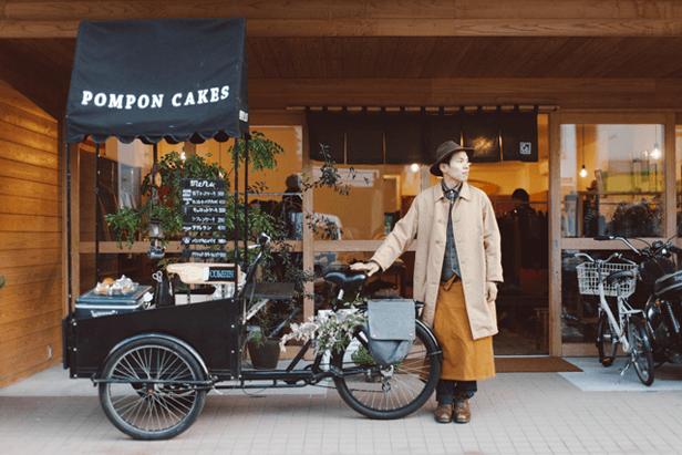 Dengan food bike ini kamu bisa berjualan cup cakes atau kue bolu lainnya.