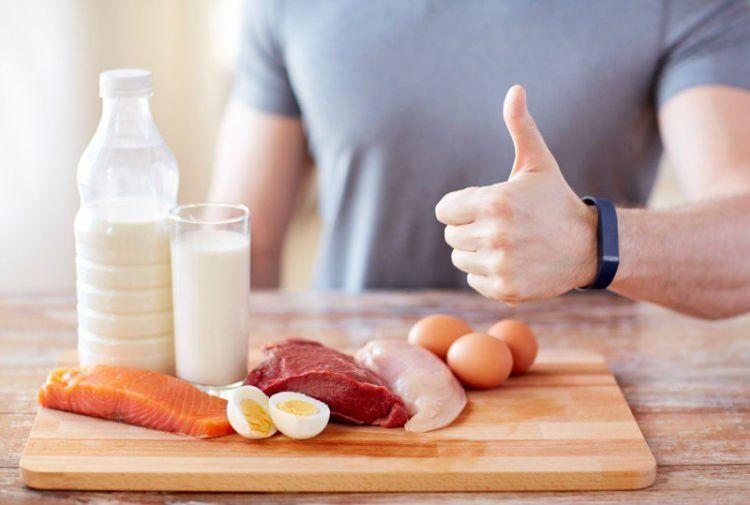 Konsumsi protein yang cukup