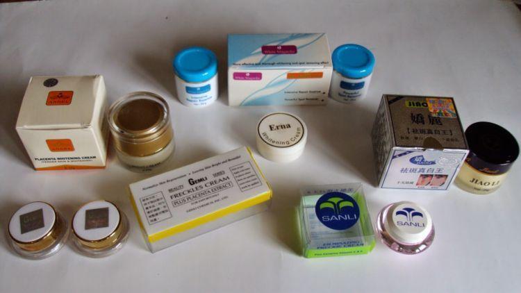 kosmetik berbahan merkuri