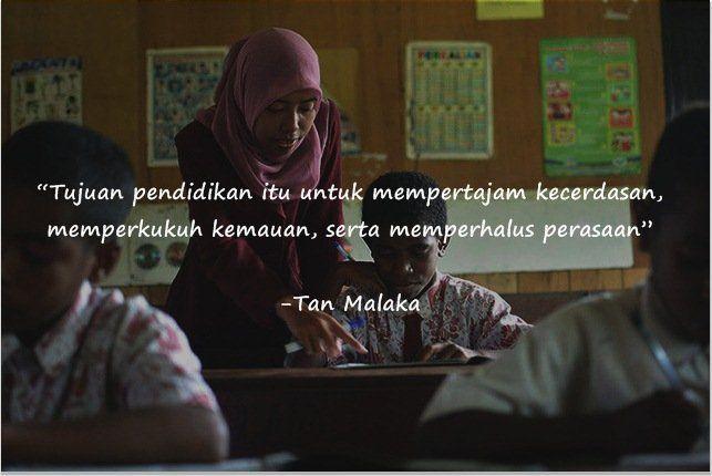 Pendidikan seharusnya mem