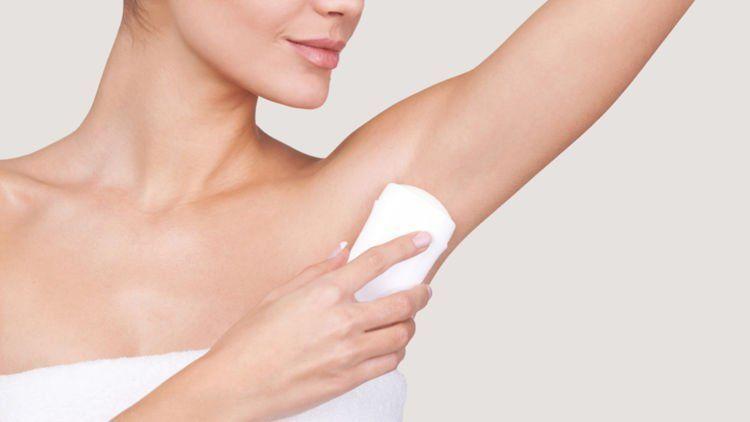 aluminium pada deodoran