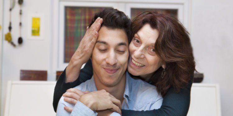 nyaman dengan ibu