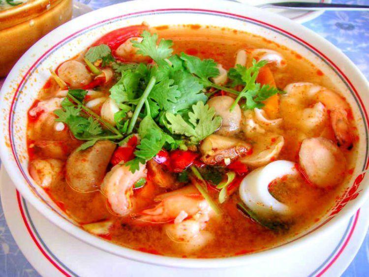 Sup seafood