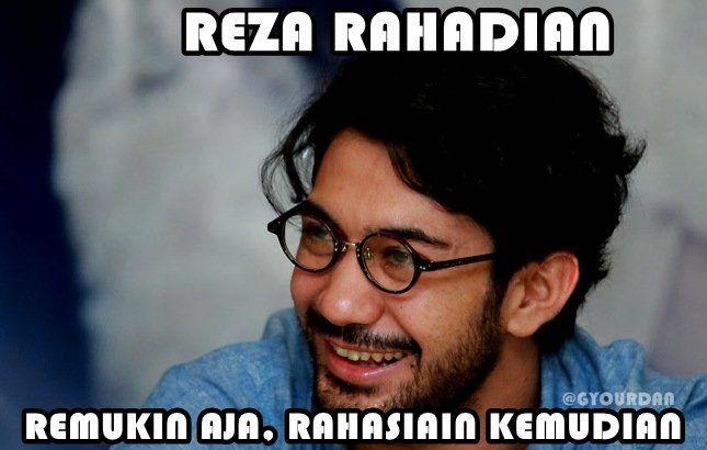 Reza Rahadian?