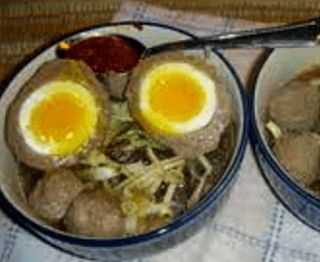 pecinta telur setengah matang wajib mencobanya