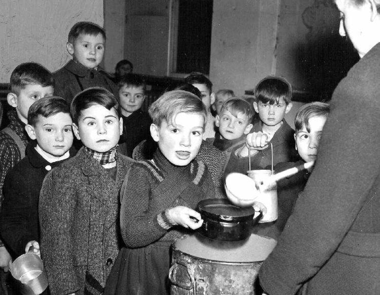krisis makanan di Jerman saat perang dunia