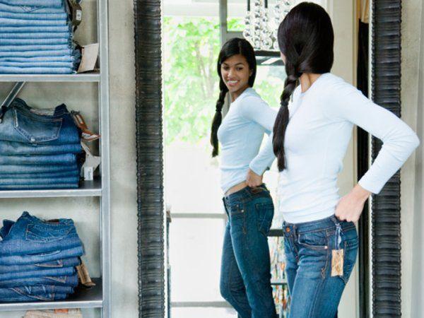 Yaudah deh beli jeans baru aja..