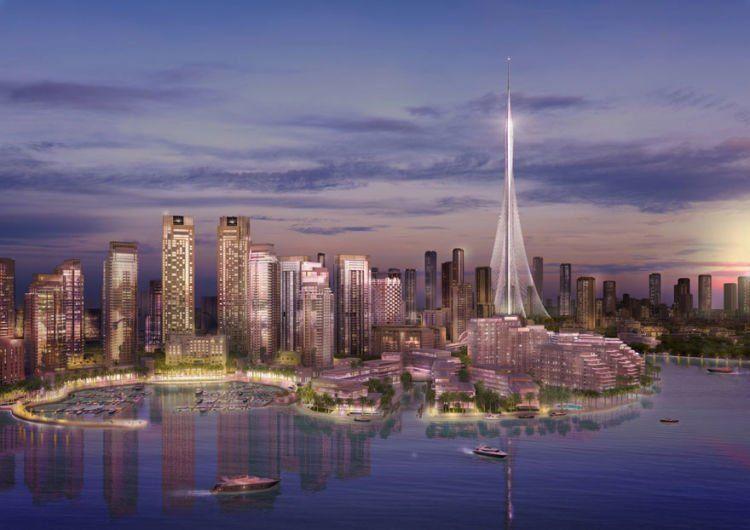 bayangin deh, kalau jadi kota Dubai bakal bisa dilihat 360 derajat, kira kira kaya apa?
