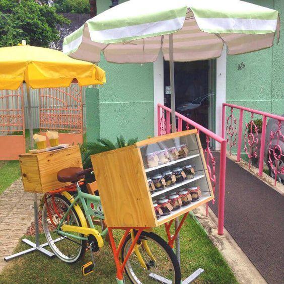 Berjualan selai dengan food bike satu ini.