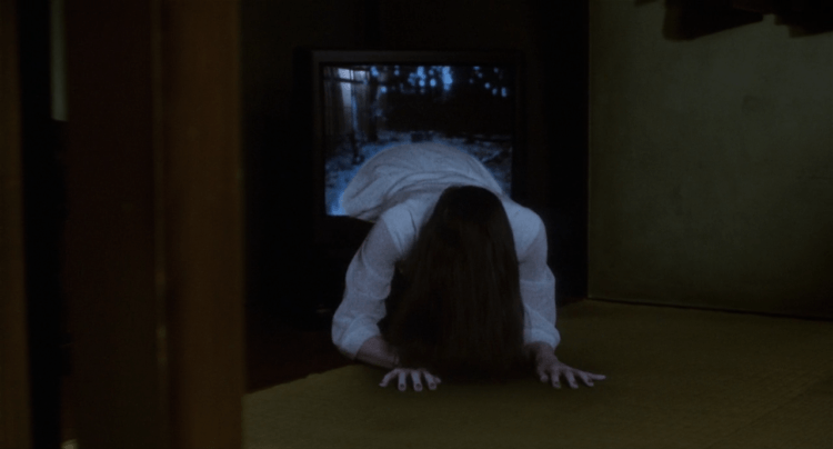 Atau, hantunya keluar dari televisi