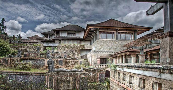 Kisah Mistis di Balik Megahnya Hotel P.I. Bedugul Bali, 'The Ghost ...