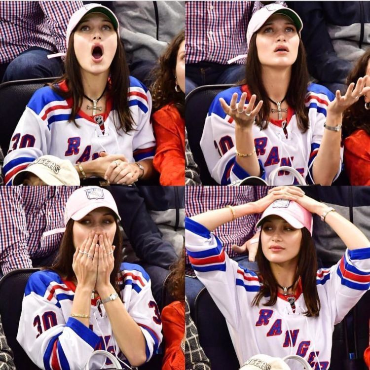 hockey bella hadid