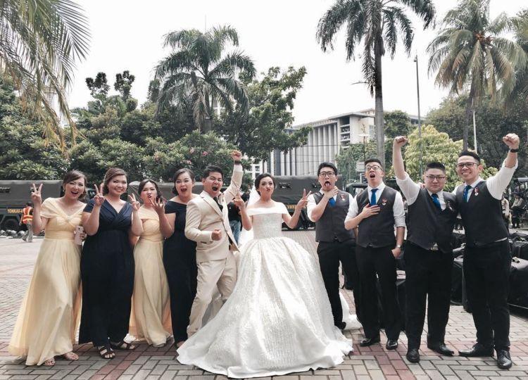 Pernikahan merekapun lancar