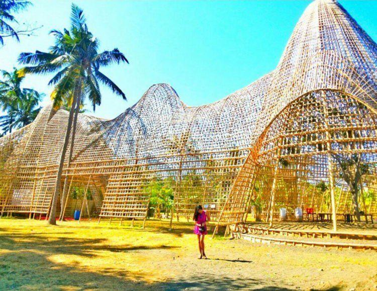 nggak nyangka kan bambu bisa sekeren ini