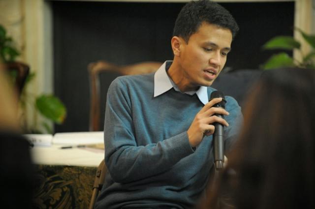 Faldo Maldini, anak muda Minang ketua PPI UK.