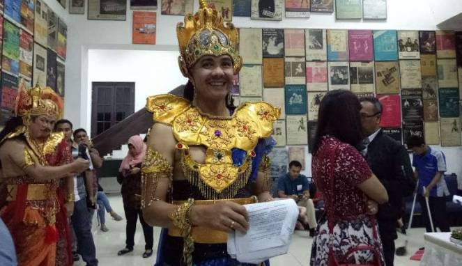Ganjar termasuk pemimpin yang perhatian terhadap seni budaya.