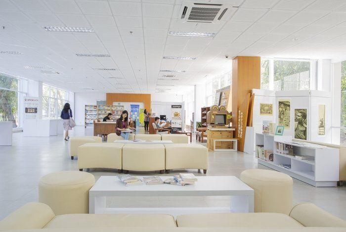Perpustakaan UGM.