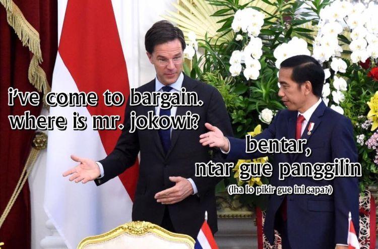 Lah? Ngga kenal pak Jokowi?