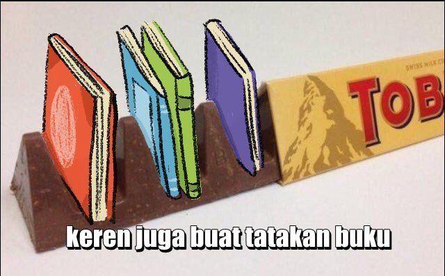 bisa buat tatakan buku