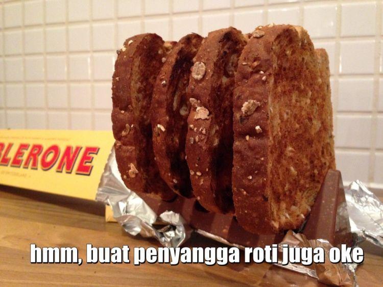 tatakan roti juga