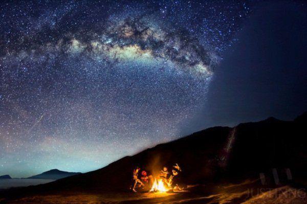 siap-siap camping di gunung ya