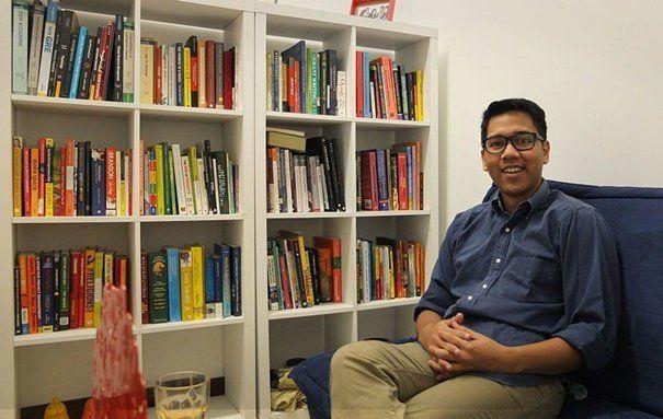 Iman Usman, pendiri Ruang Guru.