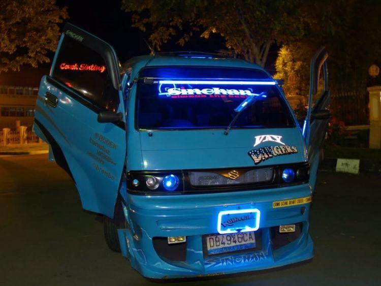 88 Koleksi Modifikasi Mobil Angkot Suzuki Terbaik