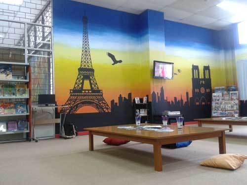 French Corner perpustakaan UPI.