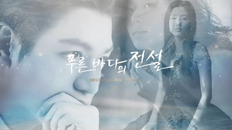 Poster awal Legend of The Blue Sea