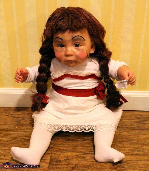 boneka anabelle dari film the conjuring