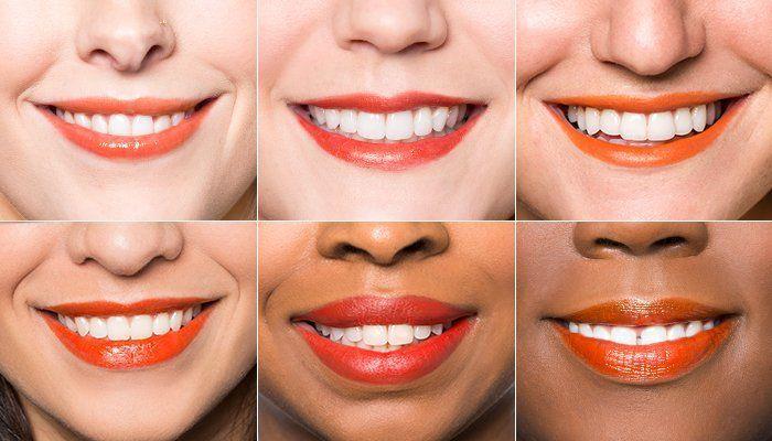 lipstik oranye