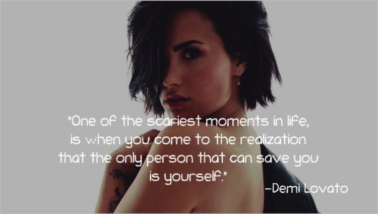 Tak Ada Manusia Yang Sempurna 15 Quotes Demi Lovato Ini