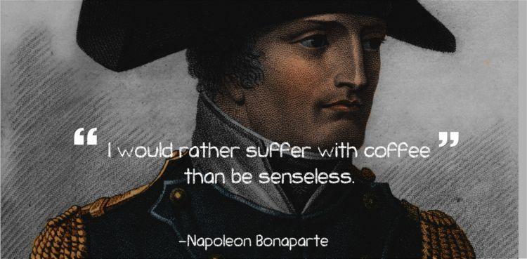 Lebih baik menderita karena kopi, daripada mati rasa karena absen nggak minum kopi.