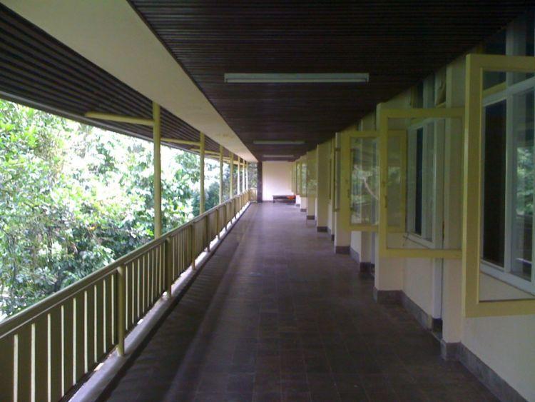 ini dia lorong asramanya