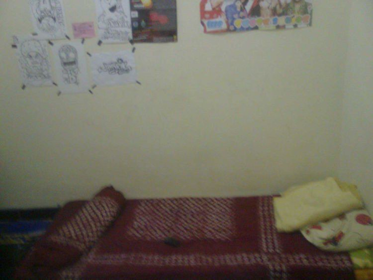 Padahal kamarnya kosong