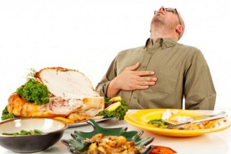 Makan dua kali tapi banyak! :D