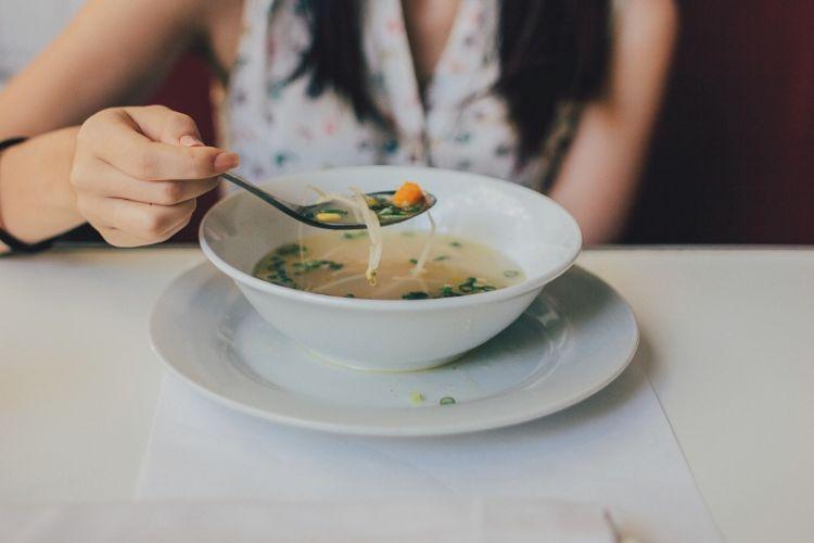 Makanan enak bisa buat semangat