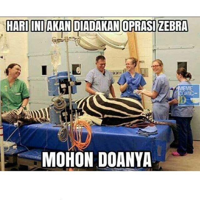 Operasi Zebra beneran