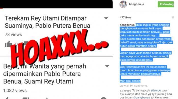 Video tersebut adalah hoax