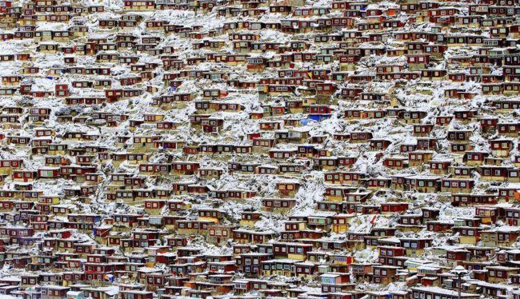 ini nyata, di Tibet sana