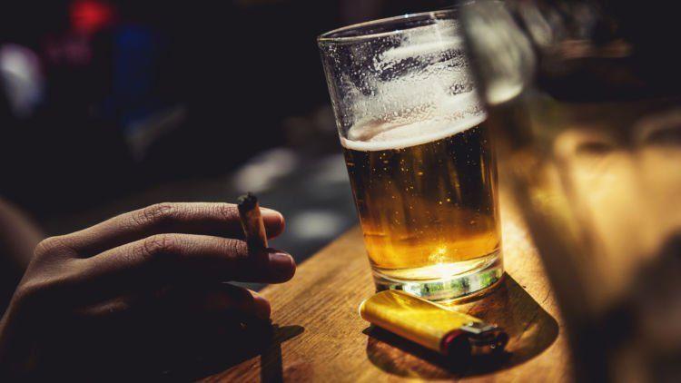 jauhi rokok dan alkohol