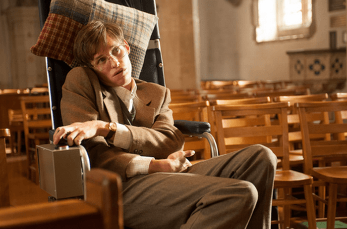 Akting sebagai Stephen Hawking menjadi bukti kualitas aktingnya yang mumpuni.