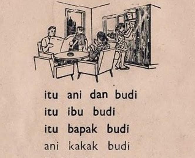 Anak sekarang mana ada nama Ani dan Budi
