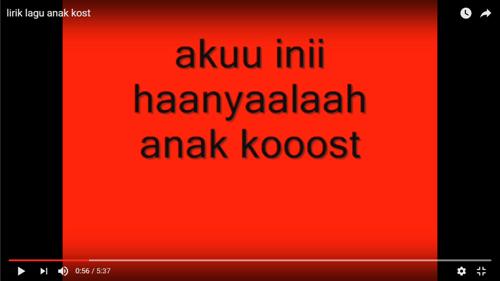 Anak Kost Harus Banget Dengerin 6 Lagu Ini